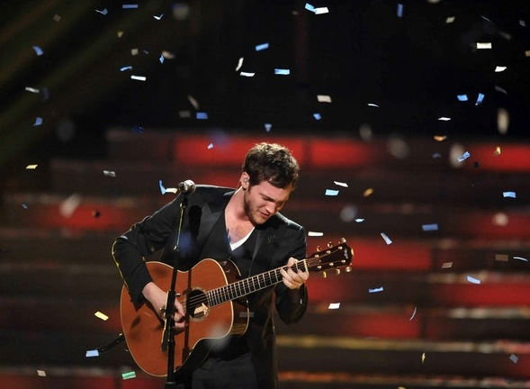 Phillip Phillips American Idol winner 2012