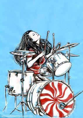 Ilustração de Meg White/ Reprodução: Pinterest